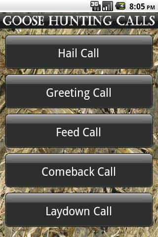 Goose Hunting Calls - screenshot
