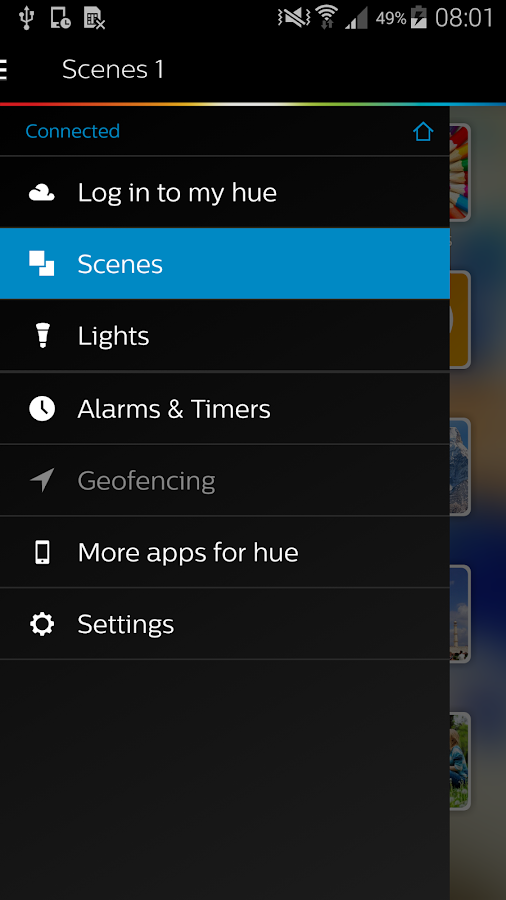 Philips Hue - screenshot
