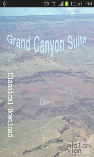 Grand Canyon Suite Grofe