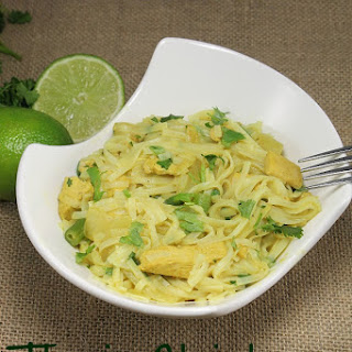 Thai Chicken Pasta Recipe