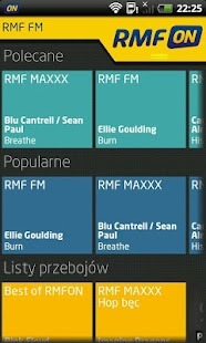 RMFon.pl (Internet radio)- screenshot thumbnail