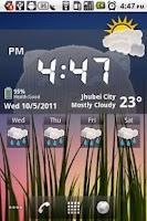 Screenshot of Pig Clock & Weather Forecast