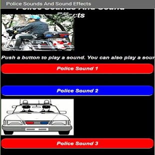 Police Sound And Sound Effects- screenshot thumbnail
