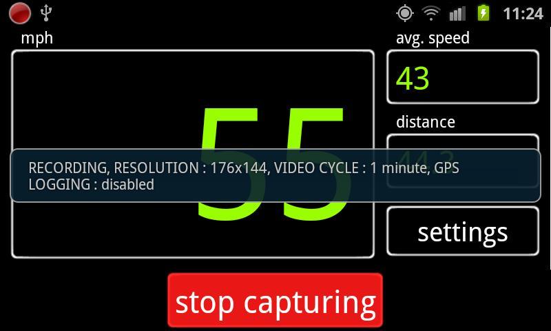 Car DVR PRO- screenshot