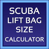 Scuba Lift Bag Size Calculator