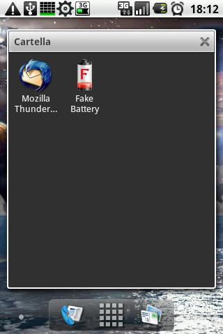Fake Mozilla Thunderbird - screenshot