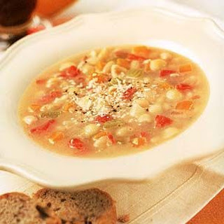 Italian Bean and Pasta Soup