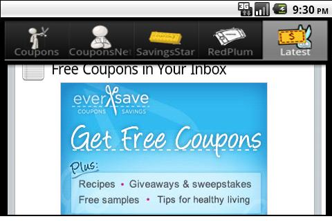 Printable Coupons | Free - screenshot
