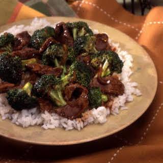 Skillet Beef & Broccoli.