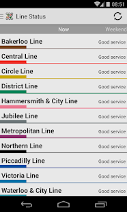 Tube Map Live Underground - screenshot thumbnail