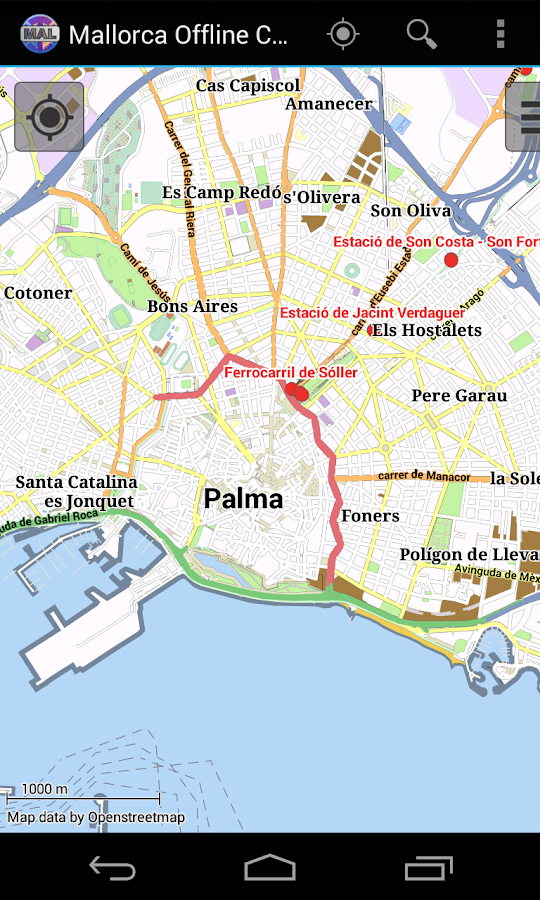 Majorca Offline City Map- screenshot