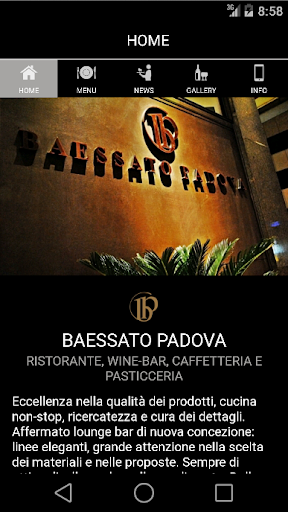 Baessato Padova bar