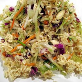 Noodle and Cabbage Salad Recipe