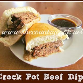 Crock Pot Beef Dips.