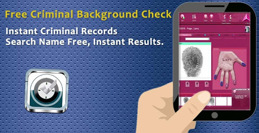 Free Criminal Background Check