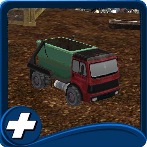 賽車遊戲App|廃品トラック用駐車場 LOGO-3C達人阿輝的APP