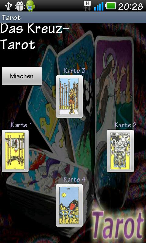 Tarot - screenshot
