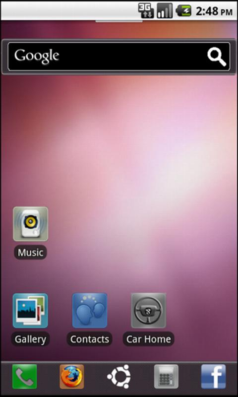 Ubuntu 11.04 - ADW Theme - screenshot