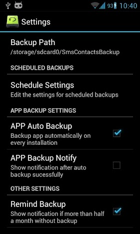 Super Backup Pro: SMS&Contacts 1.7.18 APK