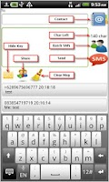 Screenshot of Free SMS Indonesia