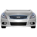 Infiniti G37 battery widget logo