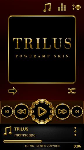 Poweramp skin Trilus