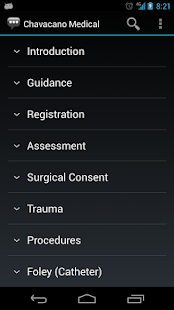 Chavacano Medical Phrases- screenshot thumbnail