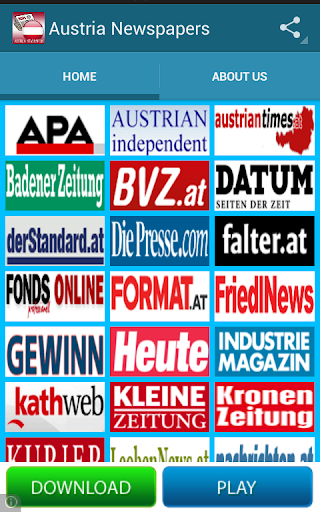 Austria Newspapers