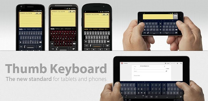 Thumb Keyboard (phone/tablet)