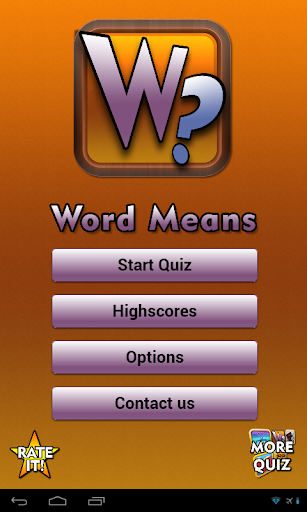 Word Means