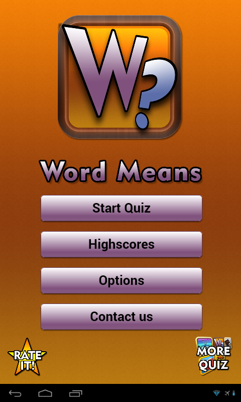 Word Means- screenshot