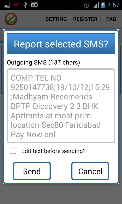 India Against Spam-AwardWinner - screenshot