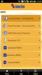 Andhra Bank- screenshot thumbnail