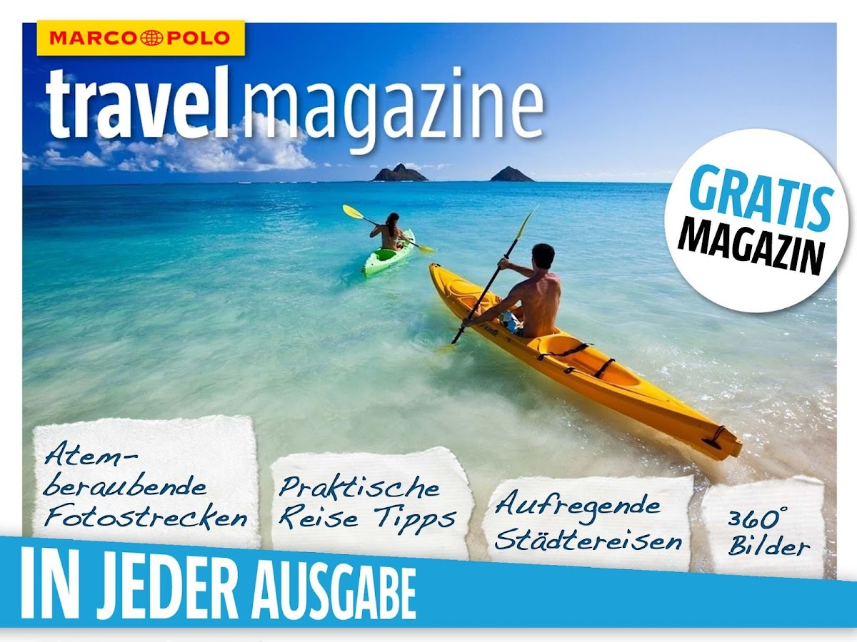 MARCO POLO travel magazine – Screenshot