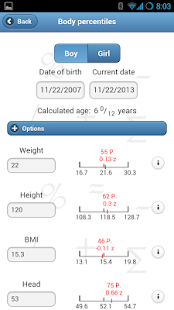 Ped(z) - Pediatric Calculator- screenshot thumbnail