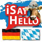 iSayHello German - Bavarian icon