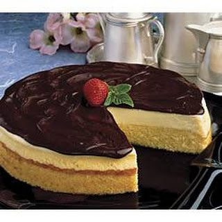 Boston Cream Cheesecake