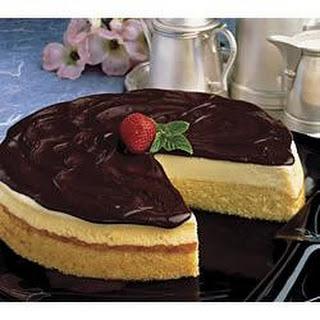 Boston Cream Cheesecake.