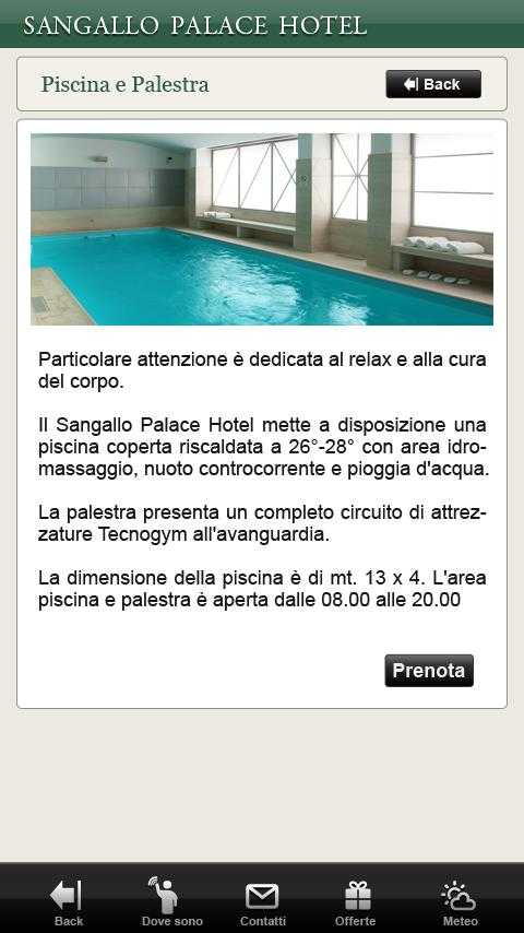 Sangallo Palace Hotel Perugia- screenshot