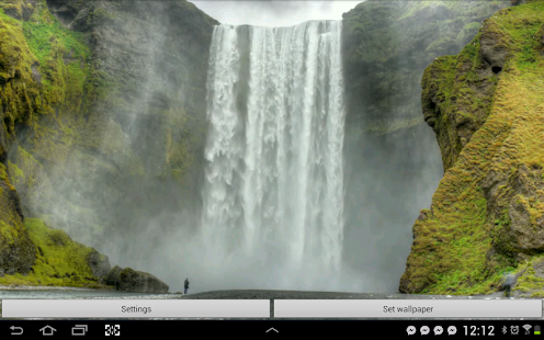 Waterfall Live Wallpaper Video - screenshot thumbnail