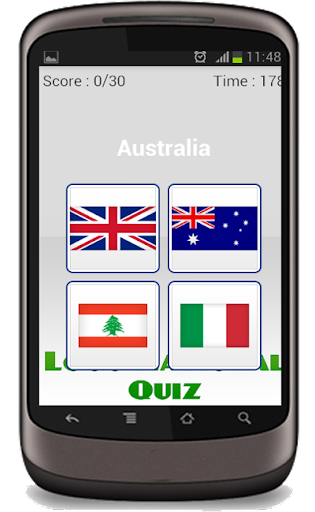 Country Flag Logo Quiz