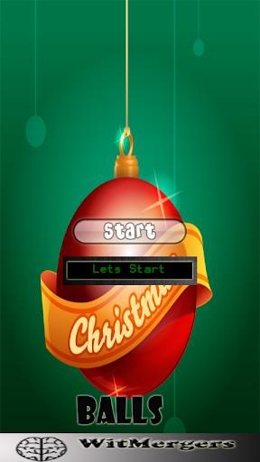 Christmas Balls Match-up Game