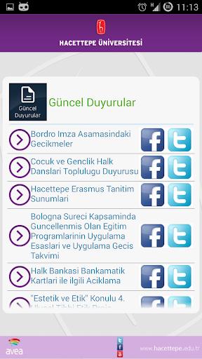 【免費教育App】Hacettepe Mobil Kampüs-APP點子