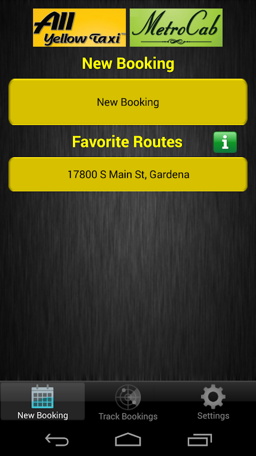 EzTaxi Los Angeles County- screenshot