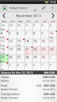 Screenshot of Vault - Budget Planner