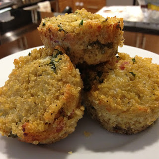 Soaked Quinoa Muffins