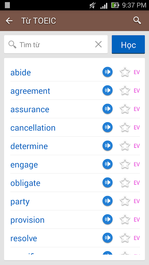 TFLAT English Dictionary - screenshot