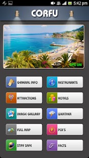 Corfu Offline Map Travel Guide- screenshot thumbnail