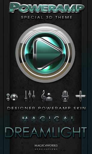 Poweramp skin Dreamlight