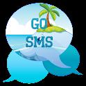 GO SMS - Beach Whale icon